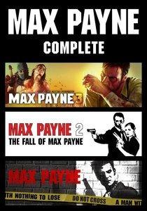 Max Payne Trilogia 1,2,3 Pc ( Mídia Física) Dvd