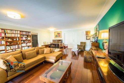 Apartamento À Venda, 333 M² Por R$ 3.490.000,00 - Campo Belo - São Paulo/sp - Ap16171