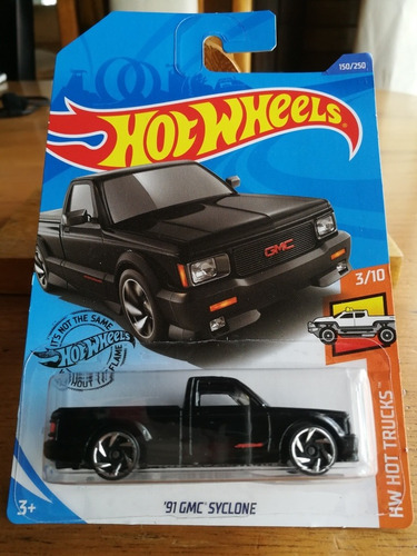 Hot Wheels 91 Gmc Syclone