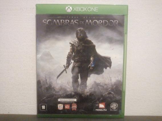 Xbox One Sombras De Mordor - Terra Média - Completo - Trocas