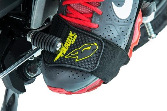 Protector Calzado Zapato Para Moto Marca Terek