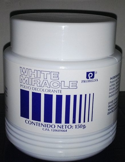 White Miracle X 150 G Polvo Decolorante