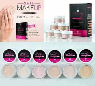 Coleccion Makeup Acrilico Nail Factory+10 Bolsa Decoracion