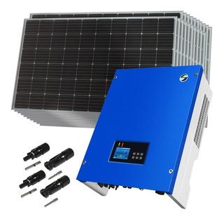 Kit Solar Inversor Trifásico 5500w + Paneles Enertik Cuotas
