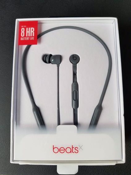 Apple Beats X Fone De Ouvido Bluetooth - Cinza