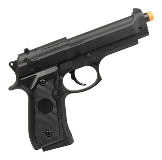 Airsoft Pistola M92 Full Metal Réplica Original Spring 6mm