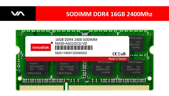 Memoria Innodisk 16gb Ddr4 2400 Sodimm