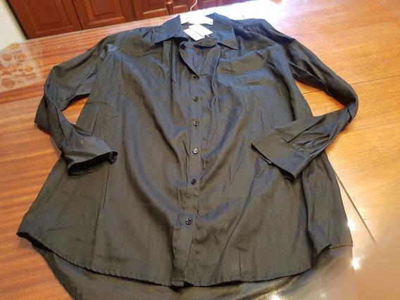 Camisa Awada Negra T M Al Xl