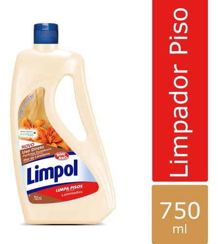 Imagem 1 de 1 de Limpador C/bril Limpol Laminados 750ml