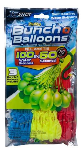 Bunch O Balloon Repuesto 100 Bombuchas En 60 Segundos X-shot