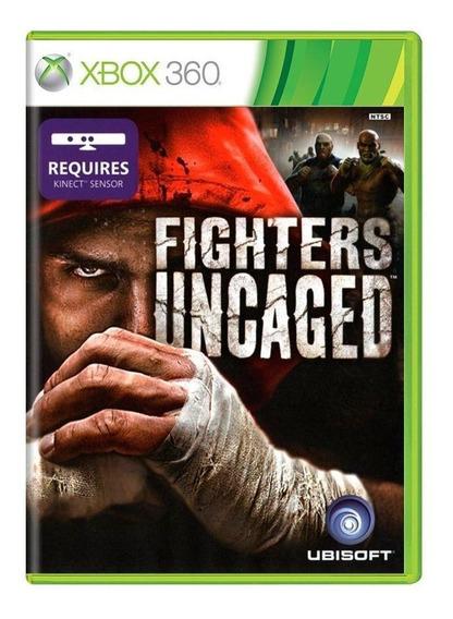 Fighters Uncaged Xbox 360 Mídia Física Pronta Entrega