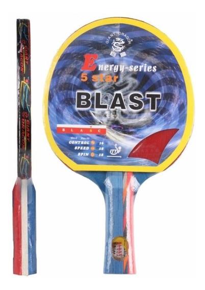 Raqueta De Ping Pong Giant Dragon Blast 5 Estrellas L3o