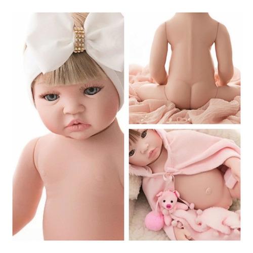 Imagem 1 de 8 de Bebê Reborn Barata Promoção Mamadeira Chupeta - 17 Itens