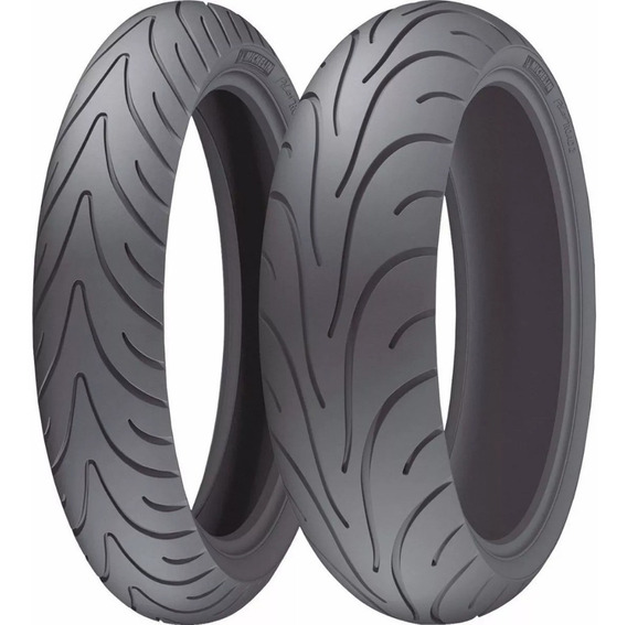 Par Pneu 120/70-17 + 180/55-17 Michelin Pilot Road 2 Cb 600f