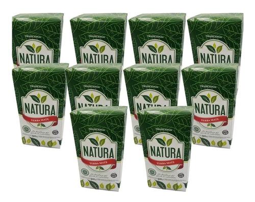 Yerba Mate Natura 10u X 1 Kg Tradicional Misiones Por Mayor