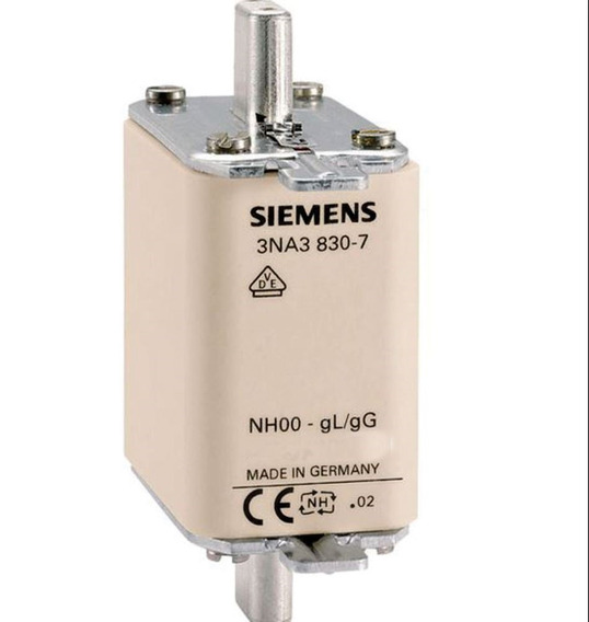 Fusível Sitor Nh000 16a 3ne1-813-0 Ultra Rápido Siemens