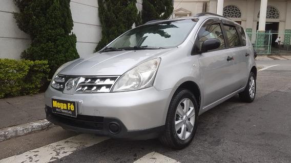 Nissan Livina 1.6 S Flex 2011 Prata Completo
