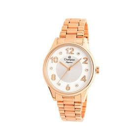 Relógio Champion Feminino Rosê Cn24002z