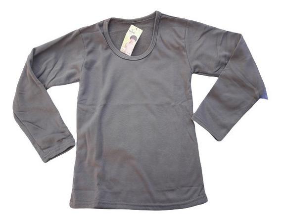 Lote 2 Camisetas Térmicas Frisa Niños/as T. 8 Y 12
