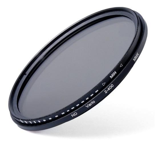 Filtro Nd Variavel Lente Nikon 18-135mm Nd2 Até Nd400 67mm