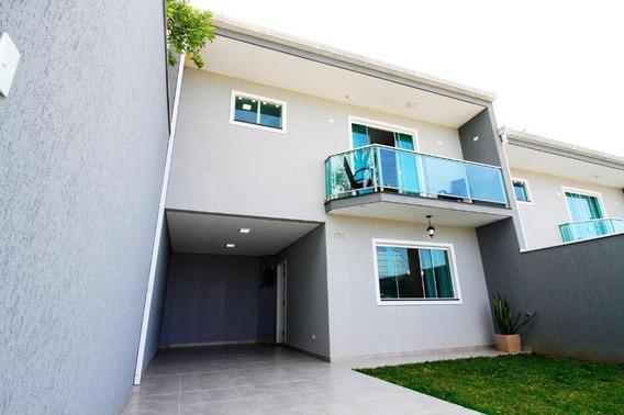 Sobrado Com 3 Dormitórios À Venda, 120 M² Por R$ 449.000,00 - Xaxim - Curitiba/pr - So1012