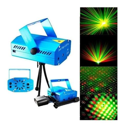 Luz Laser Audio Ritmica Multi Punto Navideña Discotecas Bar