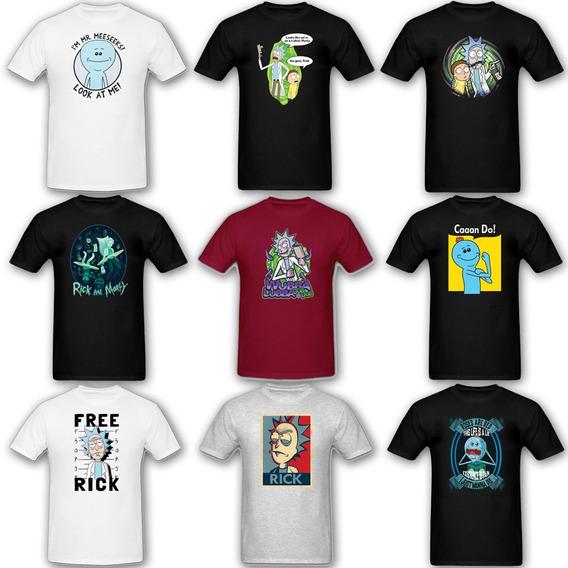 Remeras Rick And Morty - Varios Diseños |de Hoy No Pasa|