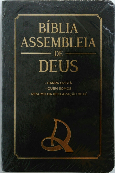 Bíblia Assembleia De Deus Com Harpa Cristã Luxo