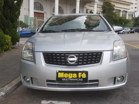 Nissan Sentra 2.0 S Aut. 4p 2009 Prata Completo