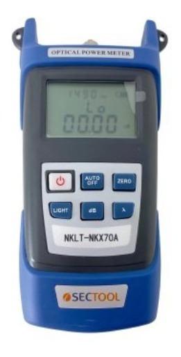 Medidor De Potência De Fibra Óptica Optical Power Meter