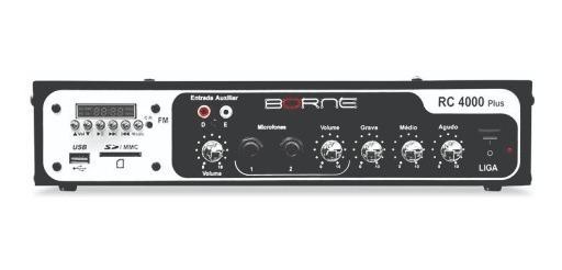 Amplificador Som Ambiente Borne Rc4000 Plus