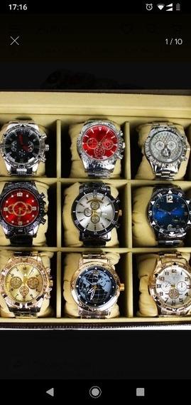 Kit Relógio Com 10 Unidade