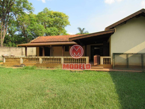 Chácara Com 3 Dormitórios À Venda, 1000 M² Por R$ 500.000,00 - Santa Rita - Piracicaba/sp - Ch0148