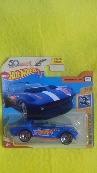 Hot Wheels Corvette Grand Sport Roadster 50 Anos Hot Wheels