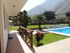 Hotel Campestre Con Piscina En Lunahuaná