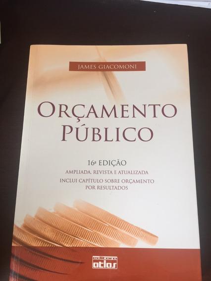 Livro Orçamento Público - Autor: James Giacomoni