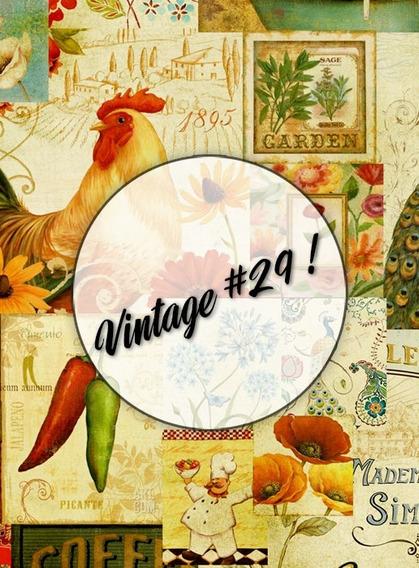 Láminas Decoupage Papel Obra 90 Gs - Vintage Retro Flores!
