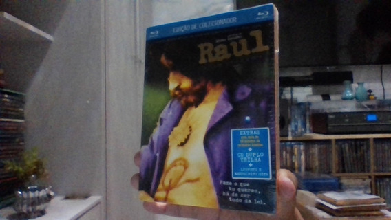 Blu-ray Raul Seixas Colecionador 2 Cd