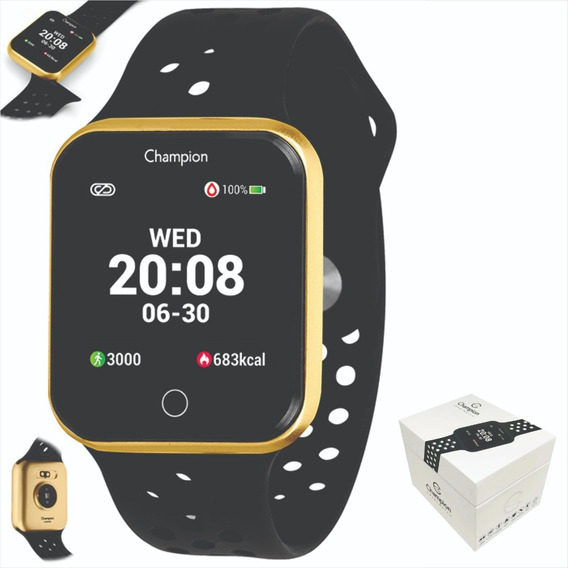 Relógio Champion Smartwatch Bluetooth 4.0 Original Ch50006u