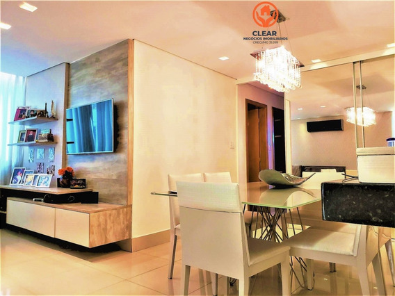 Apartamento A Venda No Bairro Castelo Em Belo Horizonte - - 22049-1