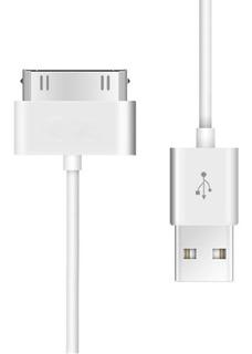 Cabo iPhone 3g 3gs 4g 4s Usb Dados E Carregador iPad iPod