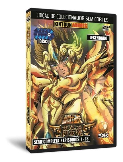 Dvd Cavaleiros Do Zodíaco Soul Of Gold Completo