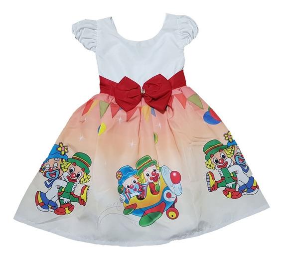 Vestido Infantil Temático Luxo Diversos