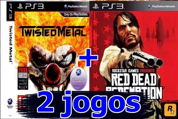 2 Jogos Originais Ps3
