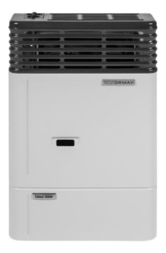 Imagen 1 de 6 de Calefactor Ormay 3000 Gas Natural Sin Salida Al Exterior