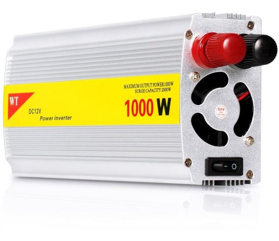 Inversor Veicular 1000w Conversor Transformado 12v 110v 220v