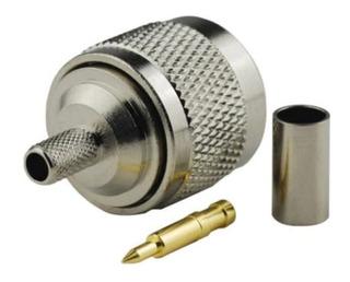Conector N Macho Crimpeable Rg58 Lmr195 Rg400 Rg142