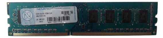 Memoria Ddr3 Novatech 2gb 1333mhz Pc3-10600 16 Chips 36