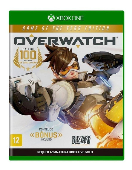 Overwatch Goty Game Of The Year Xbox One Mídia Física