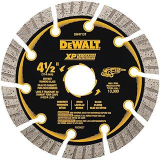Dewalt Dw4713t 412 Xp Turbo Seg Diamond Blade
